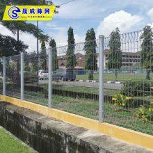珠海中海围墙护栏/厂区围墙隔离栅栏网/钢板网护栏供应