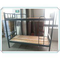 优质实木双层床合肥铁架高低床上下铺床折叠床厂家直销质量保证