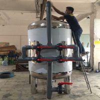 晨兴专业生产井水净化前置不锈钢过滤器 立式304不锈钢过滤罐 质优价廉