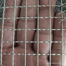 上海304不锈钢轧花网采购规格-4毫米设备通风镀锌编织网专门供应商-编织网孔形