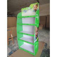 定制款展架 直立单面促销展示架 木质可可定制儿童组装展架