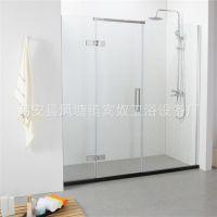 BN-264 家用简易淋浴房 洗澡间屏风隔断淋浴房 配防水石基