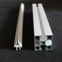 挤塑加工PVC塑料异型材 铝材装饰条 边条门窗塑钢卡槽型材