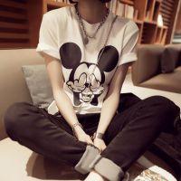 2015春季新款女装韩国版搞怪米奇短袖t恤打底衫厂家直销批发#247