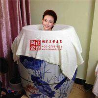 厂家生产汗蒸陶瓷缸 美体养颜排毒养生缸