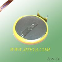 厂家直销高品质CR2032纽扣电池,可以来图加工焊脚