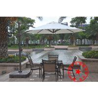厦门厂家直销乔园3米铝合金庭院伞保安岗亭遮阳伞