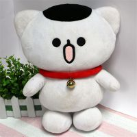大白猫咪儿童玩偶厂家直销来图专业设计打样
