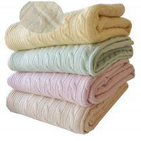 130*200cm内蒙古原产纯正冬季保暖针织高档正品羊毛羊绒毯工厂定制