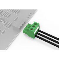 YOULE品牌pcb接线端子3p接插件90度弯插5.08mm绿色环保阻燃UL认证厂家直销批发特价