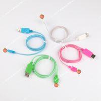 厂家直供 iphone6 数据线 发光线 冷光线 支持ios8