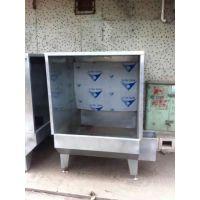 家具厂喷油柜 不锈钢水濂柜 五金件喷漆柜 锋易盛供应