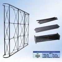 广州工厂直销3*3铁拉网展架 拉网展示架 活动背景墙 签到背景墙