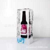透明树脂内藏啤酒瓶 冰块内藏啤酒瓶 亚克力内藏酒瓶