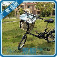 出口美国 山地车铝合金车筐 自行车车篮 快拆分离设计 购物篮