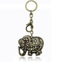 韩国钥匙扣创意 复古大象钥匙扣-半城烟沙(古青铜)2628-2-70