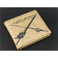 动漫卡通刀剑神域短款卡包时尚男式钱包