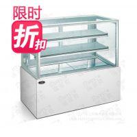 直角蛋糕展柜 1.5米 面包店展示柜 制冷设备 烘焙设备 点心冷藏柜