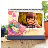 郑州照片台历定制写真台历旅游儿童台历8寸桌面台历版台历