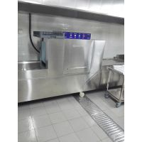 供应商用厨房设备 餐具容器自动清洗机 大型周转筐洗净能力 益友燃气洗碗机专利