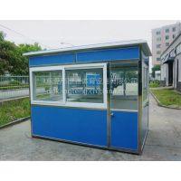 供应东莞深圳工厂保安亭内置空调,桌椅,广州彩色钢材保安亭