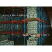 钢制堆垛式天津窄巷道货架 价格优惠 上门服务 正耀货架厂
