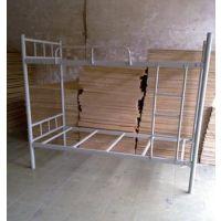罗村厂家长期低价生产各种规格Y054双层铁架床多功能学生床工地方管上下铺铁架床厂家批发订做