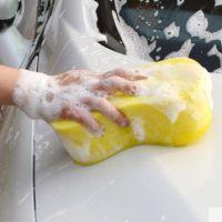 汽车8字洗车海绵强吸水打蜡专用海绵不伤车漆 汽车清洁工具用品