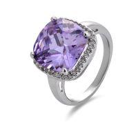 厂家批发流行欧美奢华精品AAA锆石戒指女款 速卖通Ebay 供货