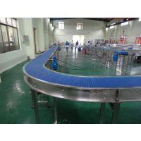 生产厂家供应平面转弯网带输送机,柔性转弯机