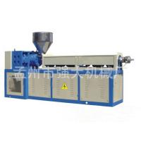 PVC单螺杆再生造粒机 塑料造粒机生产设备厂家 PVC 再生造粒生产线强大塑机