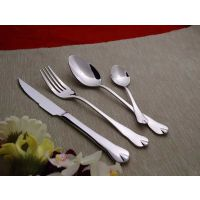 【口福】水滴系列不锈钢刀叉勺四件套 创意用品西餐餐具套装