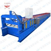 冷弯机组YF/玉发720型楼承板技术参数高速高精度成型全自动双层彩钢压瓦机