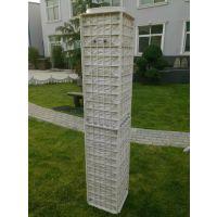 高端大气郑州天艺批发金格组合围栏26*26*1.6m的基础墙合金塑料模具