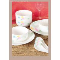 西安陶瓷餐具礼品批发 西安陶瓷餐具礼品定制 陶瓷餐具可印LOGO