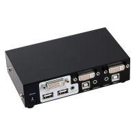 两口桌面型DVI-KVM电脑切换器MT-2102DL