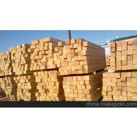 厂家直销5*10/10*10建筑用木方-4米长白松木龙骨