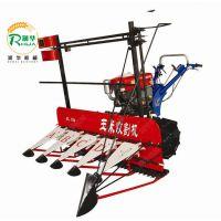大型拖拉机带动割晒机 润华多功能农作物收割机