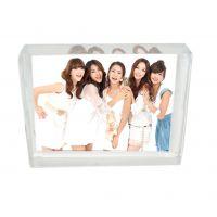 diy水晶照片定做影像摆件同学聚会纪念创意生日礼品女生厂家直销