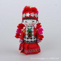 民族娃娃 东南亚木雕工艺品 民族娃娃摆件 挂件批发