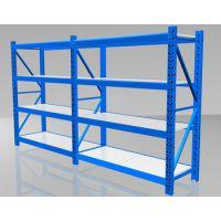 促销重庆固联:中轻型钢制货架,承载100~300kg/层,标准四层