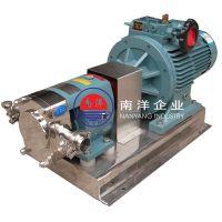 广州1.5-7.5kw不锈钢转子泵 凸轮泵 高粘度输送泵质量保证
