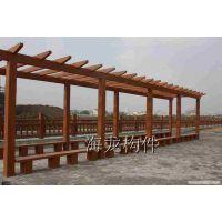 仿木花架、仿木廊架、仿木亭子、仿木长廊、生态花架、生态长廊