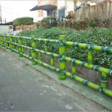 四川驰升仿竹栏杆 成都水泥仿竹护栏
