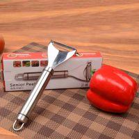 揭阳礼品可定制 logo 304不锈钢多功能厨房工具土豆削皮机削皮器