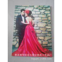 厂家直销~diy创意礼物 定做婚纱照片喷涂实木珍藏盒 结婚证盒