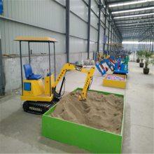 厂家直销小型电动挖掘机 游乐场专用挖掘机