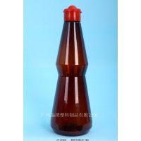 安徽塑料瓶包装厂 SP-JX460CC透明鸡汁瓶 0.5千克装塑料瓶