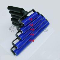 硅胶防静电除尘滚轮4 6 8 10 12 寸粘尘滚筒黑铝塑料柄防静电滚筒