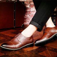 厂家一件代发新款真皮男鞋透气韩版休闲皮鞋男士潮流低帮鞋单鞋子